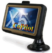 X5-CoPilot GPS Tracking and Navigation in One Device